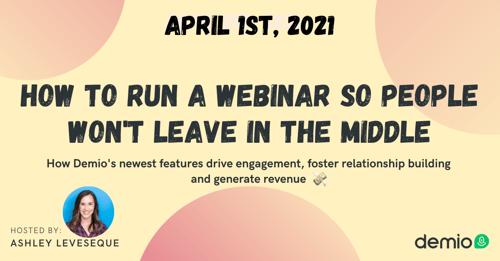 April 1st Webinar